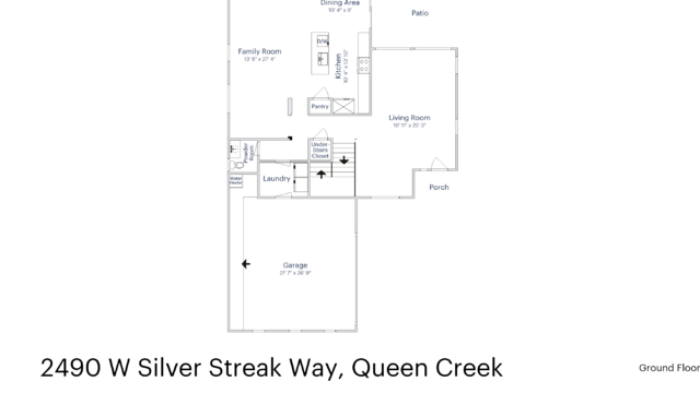 Photo 1 of 33 - 2490 W Silver Streak Way, Queen Creek, AZ 85142