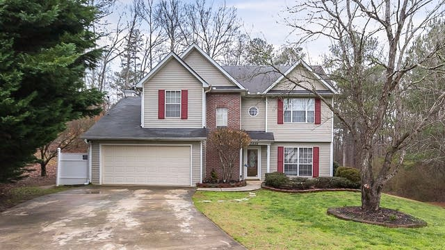 Photo 1 of 28 - 2656 Boulder Pointe Way, Ellenwood, GA 30294