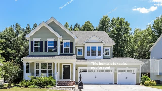 Photo 1 of 25 - 1408 Endgame Ct, Wake Forest, NC 27587