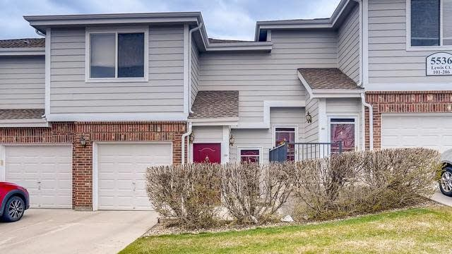 Photo 1 of 16 - 5536 Lewis Ct #104, Arvada, CO 80002